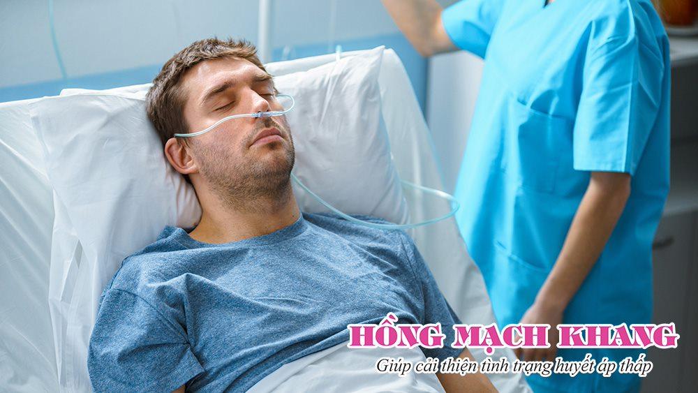 Sốc do tuột huyết áp quá mức có thể dẫn tới hôn mê